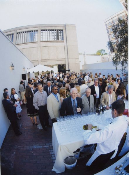 oregon historical society rooftop reception event