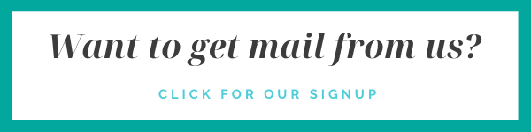 Event Planning Mail Signup Banner